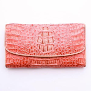 real crocodile leather wallet