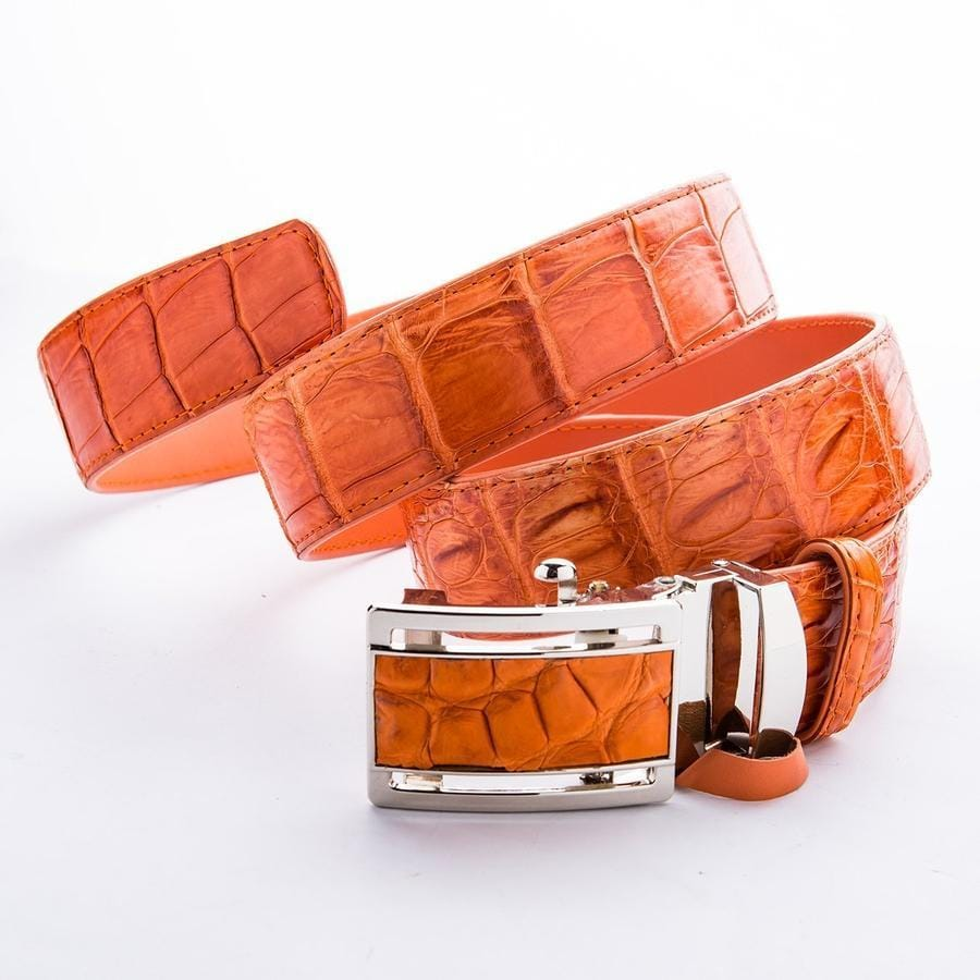 real crocodile belt