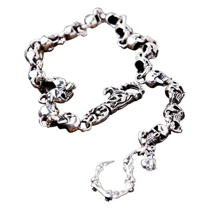 phantom skull wallet chain