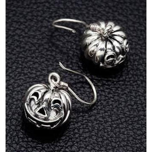 Halloween Pumpkin Head Earrings