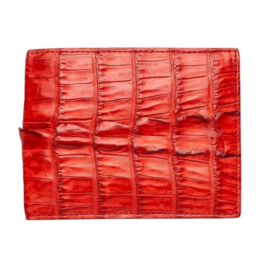 red croc men's wallet