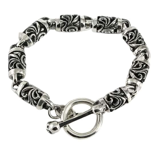 rosa sterling silver armband