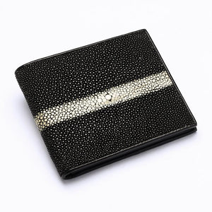 genuine stingray leather wallet