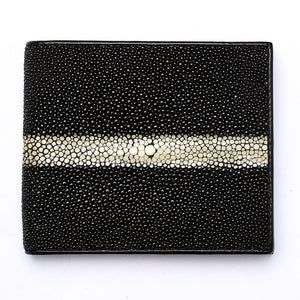 row stingray skin leather lalaking wallet