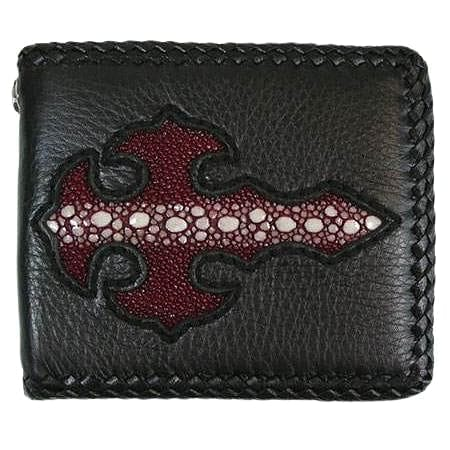 Row Red Cross Biker Wallet