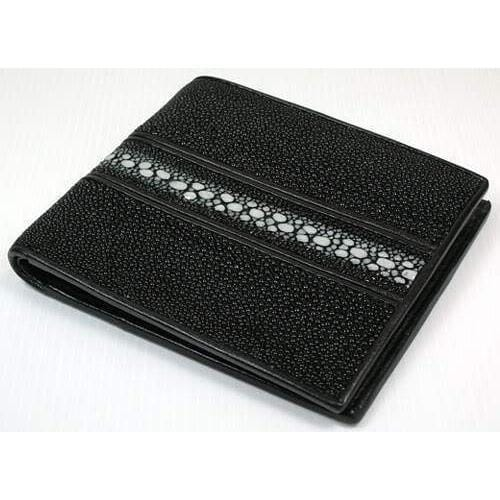 exotic leather wallet