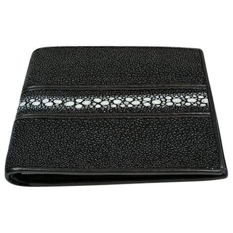 row stingray skin wallet