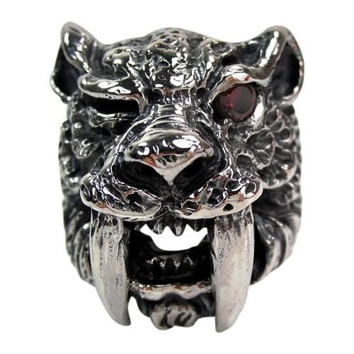 Sabre Tooth Tiger Ring