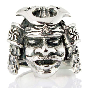 Yapon Samuray Mask Ring