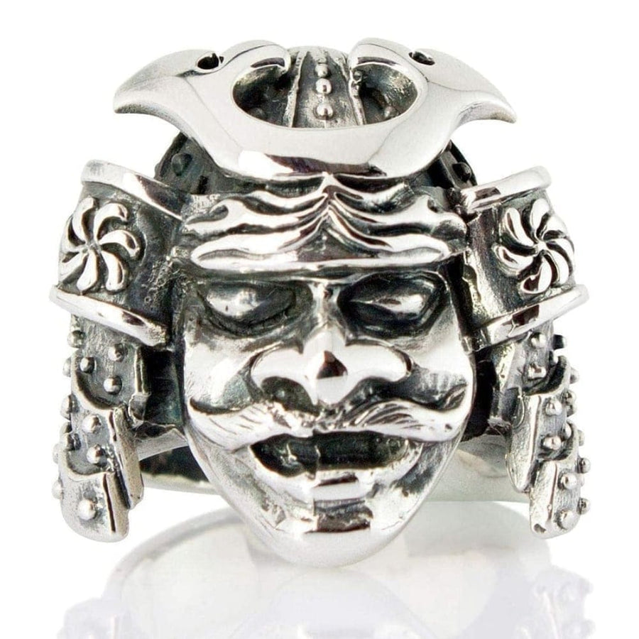 Japanese Samurai Mask Ring