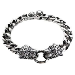 925 sterling silfur Tiger armband