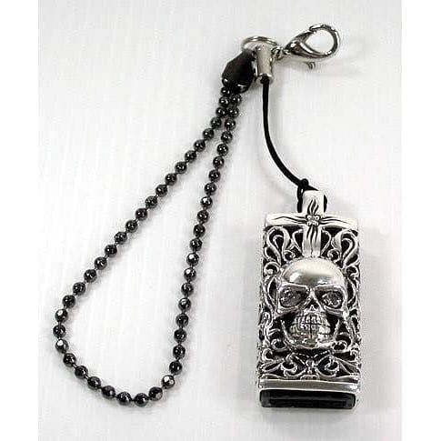Skull Flash Drive Pendant-Bikerringshop