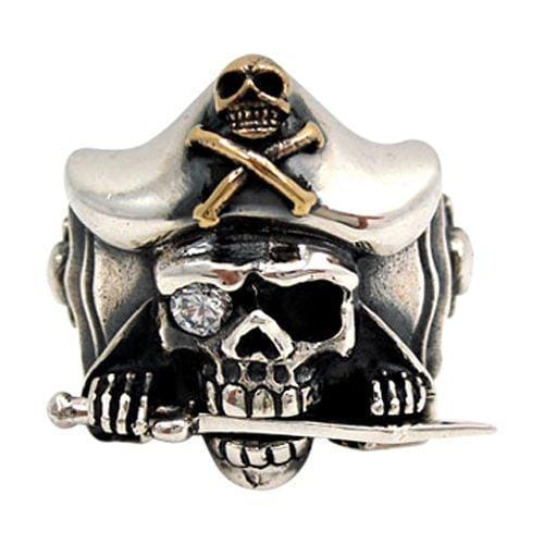 Jack Sparrow Pirate Skull Ring