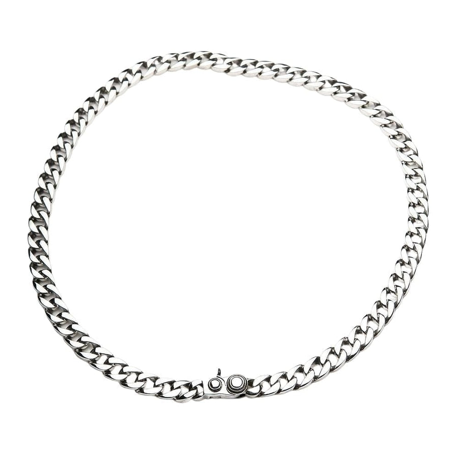 925 silver men's small necklace