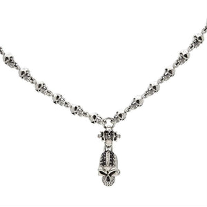 silver gothic necklace