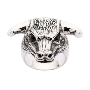 sterling sølv tyr Taurus ring