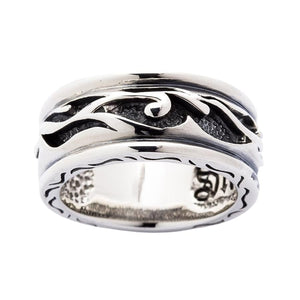 Sterling Silver Tribal Band Ring
