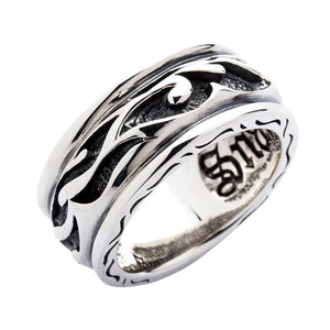 tribal tattoo ring