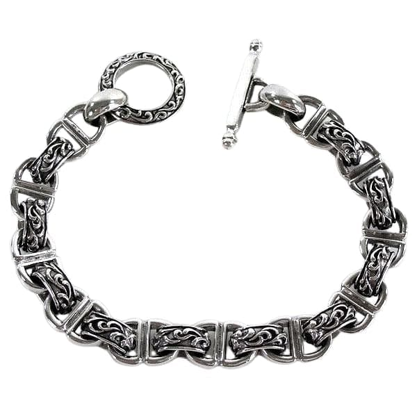 sterling silver tribal bracelet