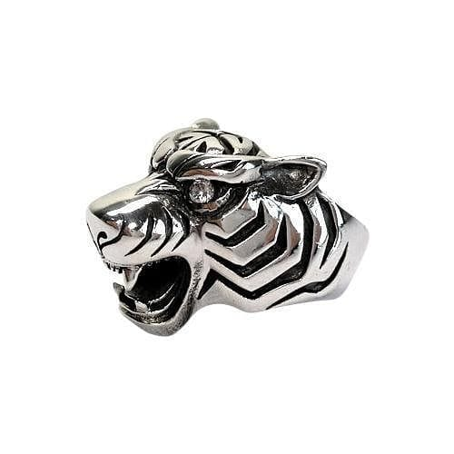 diamond eyes tiger ring