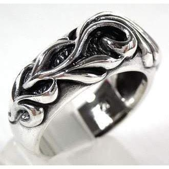 tribal mens ring