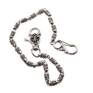 sterling silver chain for wallet