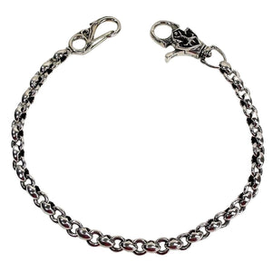 925 silver tribal wallet chain