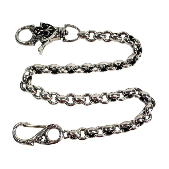 Tribal Sterling Silver Wallet Chains