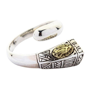 Sterling Silver Lady of Guadalupe Ring