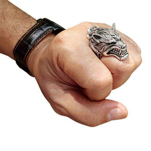 werewolf ring on hand