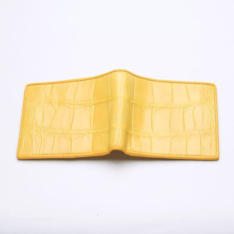 alligator men's wallet