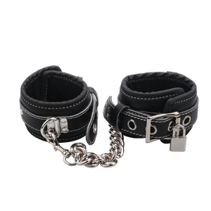 buffalo leather sex ankle cuffs for bondage