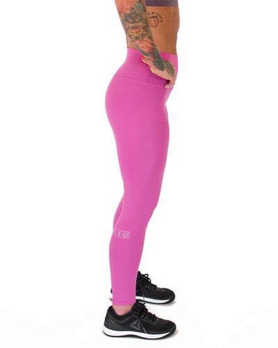 "FLEO El Toro 25"" Berry Sorbet - Romey Workout Leggings"