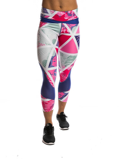 Northern Spirit 7/8 Summer Women's Tights I Workout Leggings I Best Gym Leggings I Yoga Pants I Pilates Leggings