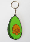 Feed Me Fight Me Avocado Keychain