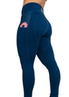 Donut In Your Pocket? Mid-Rise Women's Leggings