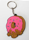 Feed Me Fight Me Donut Keychain
