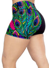 Feed Me Fight Me Goddess Endurance Womens Gym Shorts