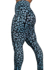 Leopard-Licious Mid-Rise Women's Workout Leggings