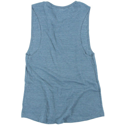 (Heather Denim) Women's Tank Top I Best Women's Gym Tank Top I Workout Women's Tank Top I Women's Workout Clothes
