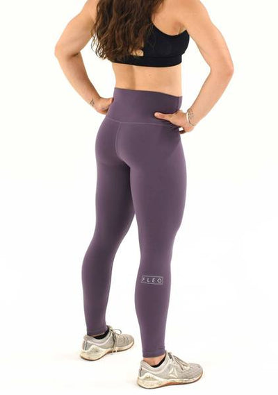 "FLEO El Toro 25"" Black Plum - Romey Workout Leggings"