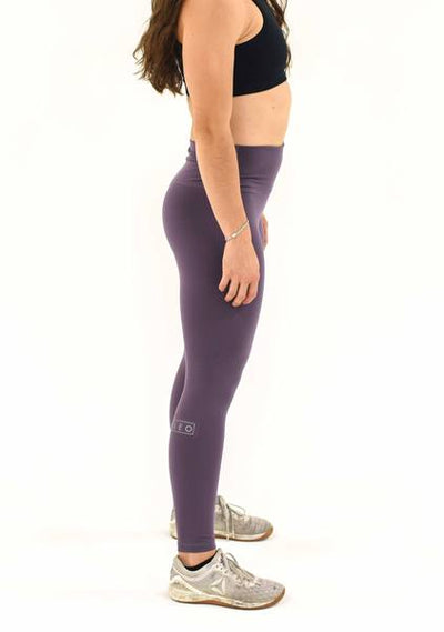 Black Plum Women's Workout Leggings I Best Gym Leggings I Yoga Leggings I Pilates Leggings