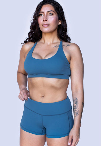 SAS Women's Gym Shorts (Teal)