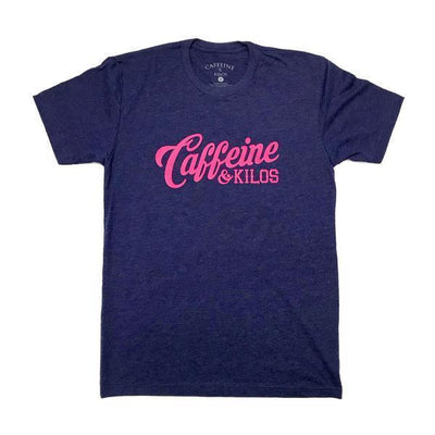 Caffeine and Kilos' Script Logo T-Shirt (3 Colours)