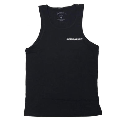 Caffeine and Kilos' Tank Top (2 colours)