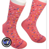 Donut Sprinkle Crew Cut Socks