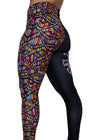 Boogie Nights Mid-Rise Leggings I Women's Workout Leggings I Best Gym Leggings I Yoga Pants I Pilates Leggings