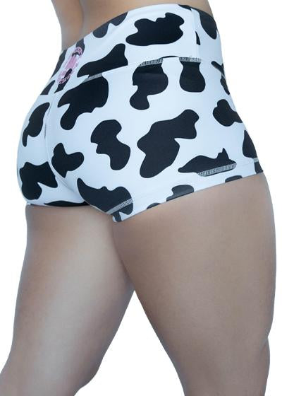 Cow Moo Flage Shorties