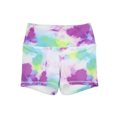FLEO Vibrant Heat Power Rise Workout Shorts