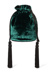 Tula Velvet Shoulder Bag